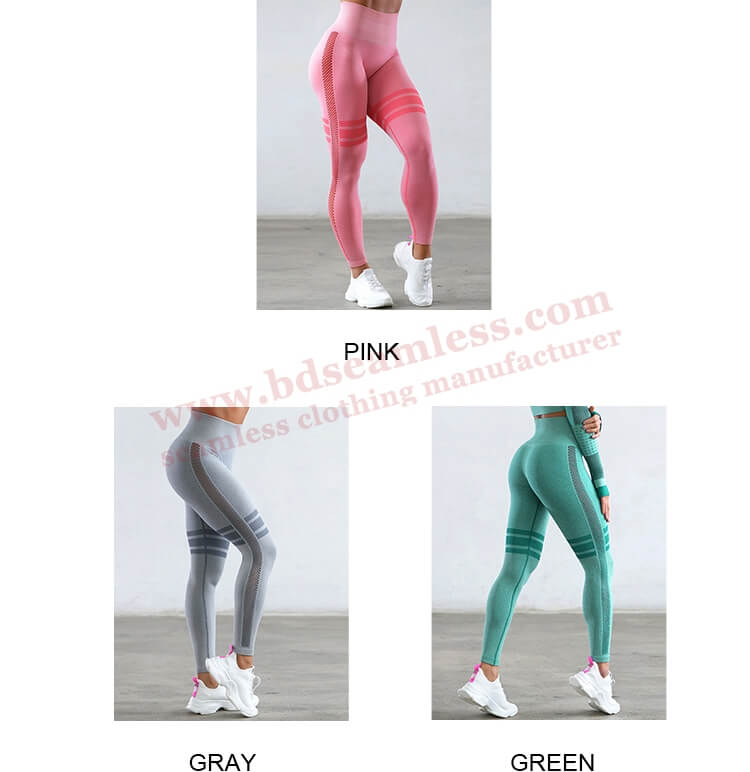 COLORS OF BREATHABLE WORKOUT LEGGINGS
