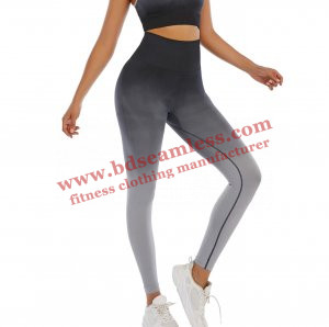 Black and Grey Ombre Leggings Wholesale