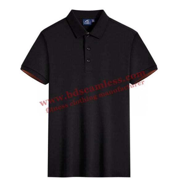 Black American golf T shirts wholesale