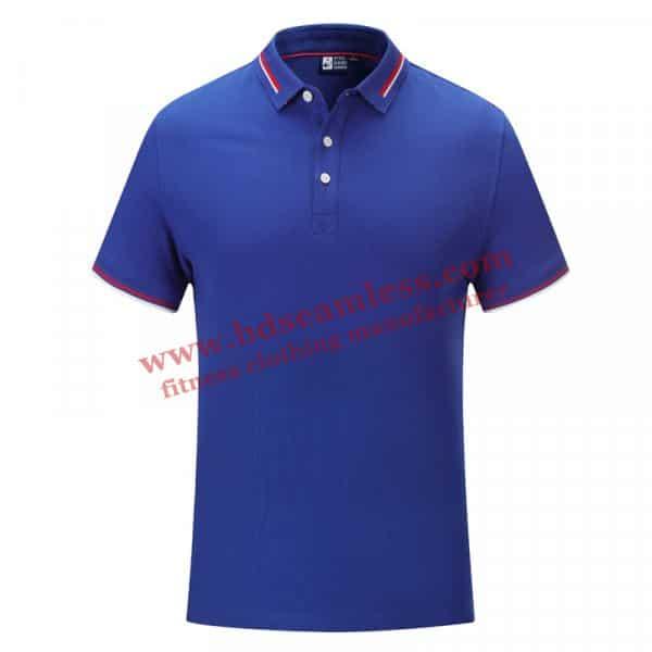 Navy blue golf themed tee shirts wholesale