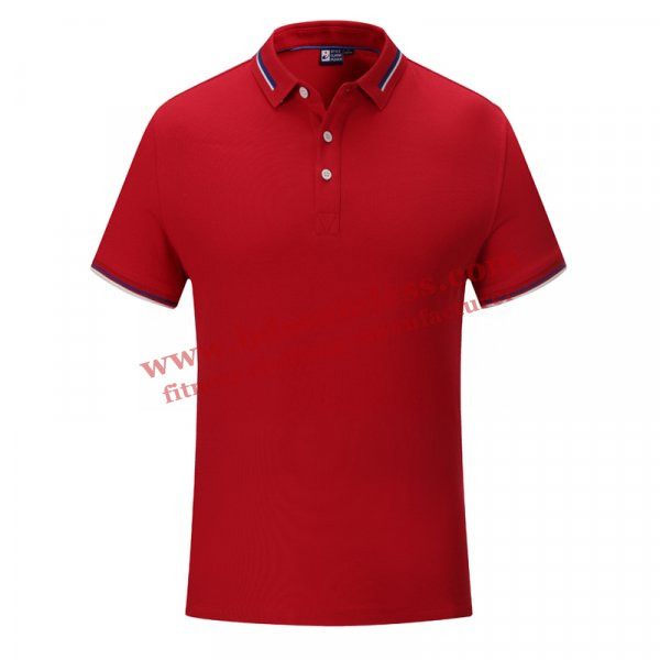 Red golf themed tee shirts wholesale