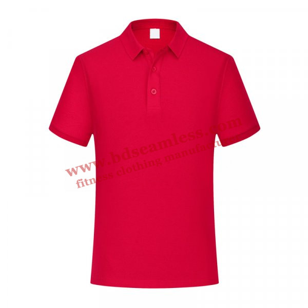 Plain Red Golf T Shirt Wholesale
